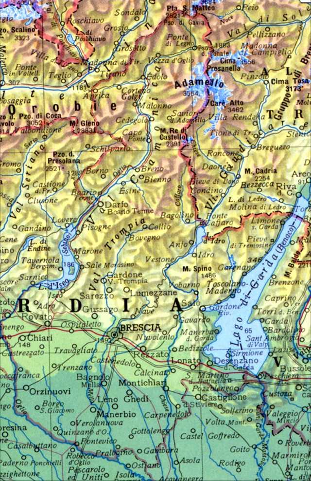 Lago Di Garda Cartina Fisica.Adl C Atlante Demologico Lombardo Il Bresciano Ricerche