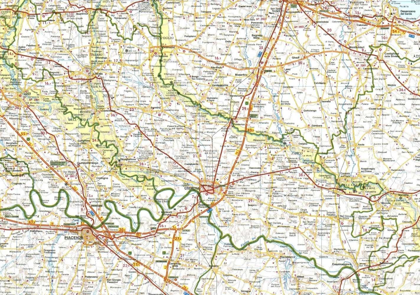 Cartina Geografica Della Provincia Di Mantova.Adl C Atlante Demologico Lombardo Il Cremonese Ricerche